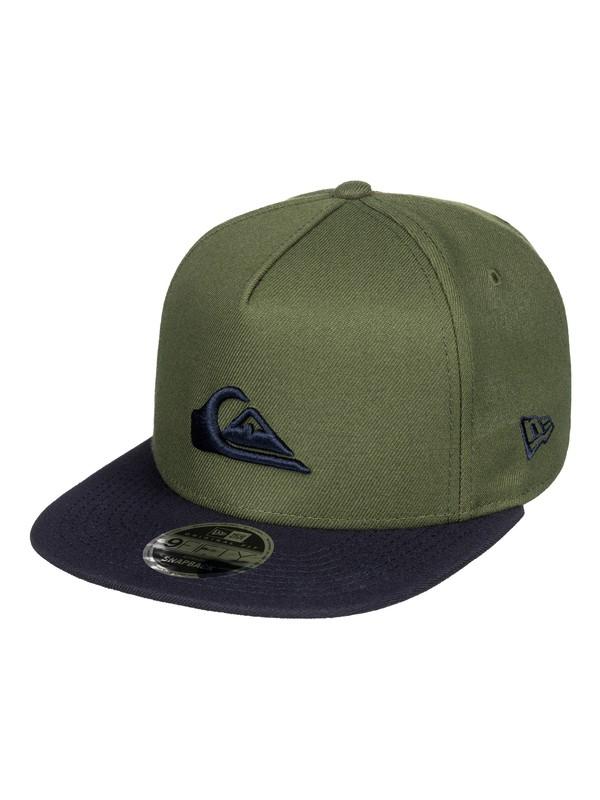 0 Stuckles Snap Snapback Hat Brown AQYHA03989 Quiksilver