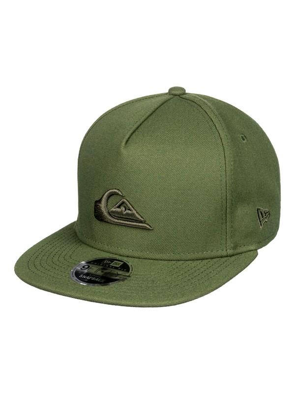0 Stuckles - Snapback Cap for Men Green AQYHA03989 Quiksilver