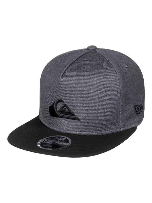 0 Stuckles Snap Snapback Hat Black AQYHA03989 Quiksilver