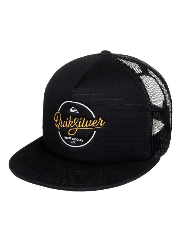 0 Turnstyles Trucker Hat  AQYHA03993 Quiksilver