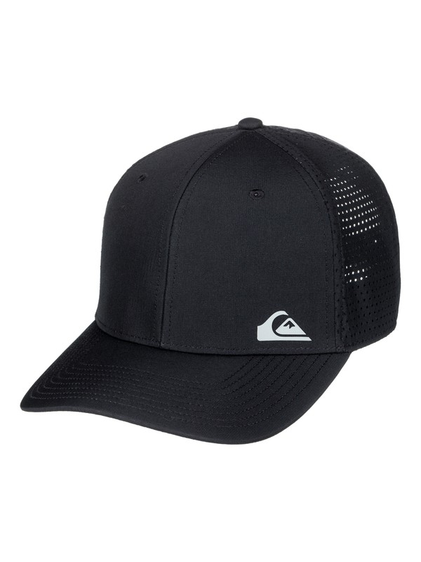 0 Technabutter Technical Baseball Hat Black AQYHA03994 Quiksilver