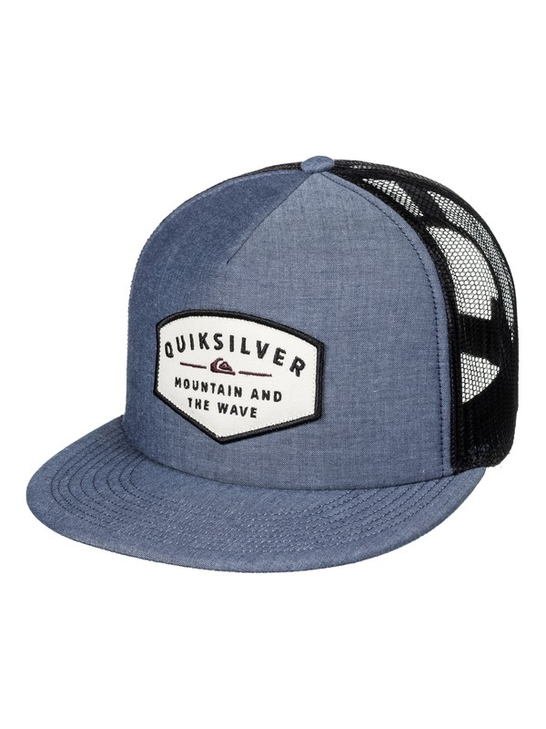 0 Sass Master - Trucker Cap for Men  AQYHA03995 Quiksilver