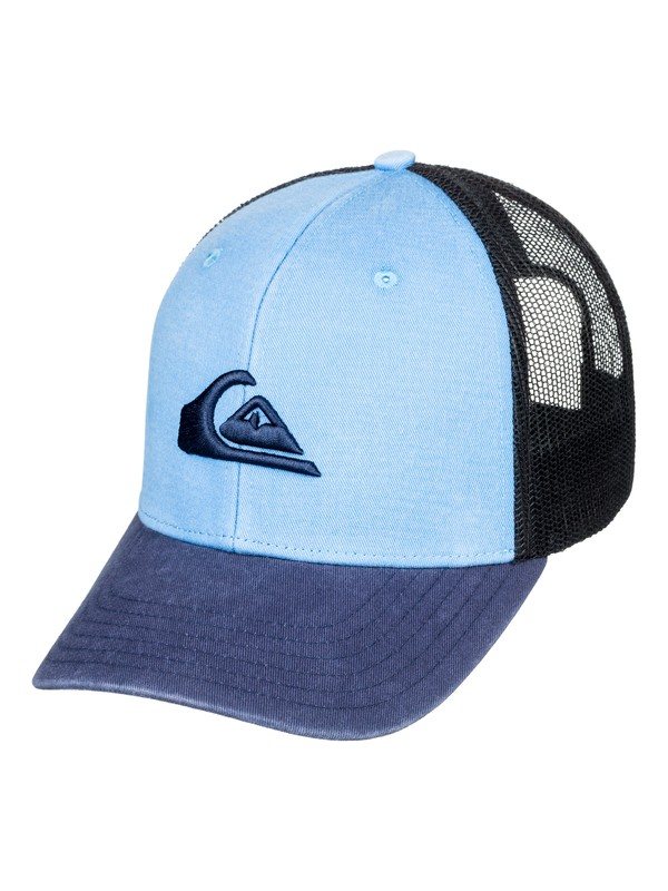 0 Grounder Trucker Hat Blue AQYHA03997 Quiksilver