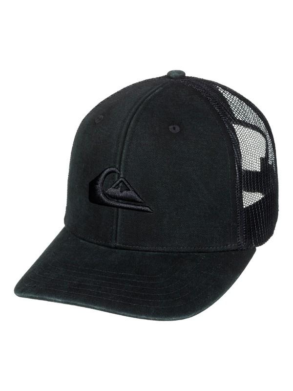 0 Grounder Trucker Hat Black AQYHA03997 Quiksilver