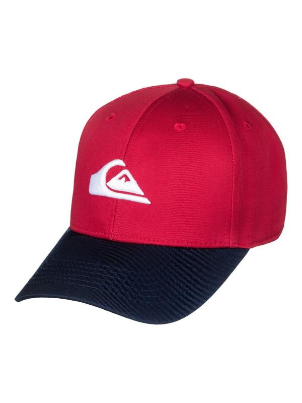 0 Decades - Snapback Cap for Men Red AQYHA04002 Quiksilver