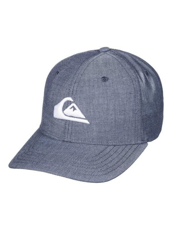 0 Charger Plus - Snapback Cap Blue AQYHA04003 Quiksilver