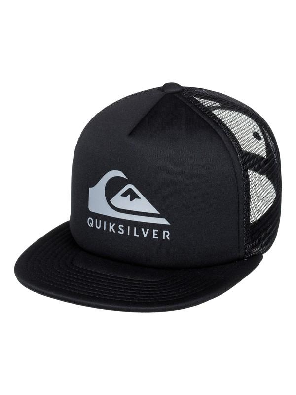 0 Foamslay Trucker Hat  AQYHA04033 Quiksilver