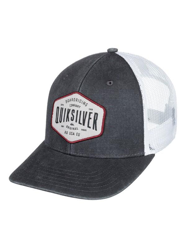 0 Steel Hander - Trucker Hat Black AQYHA04062 Quiksilver