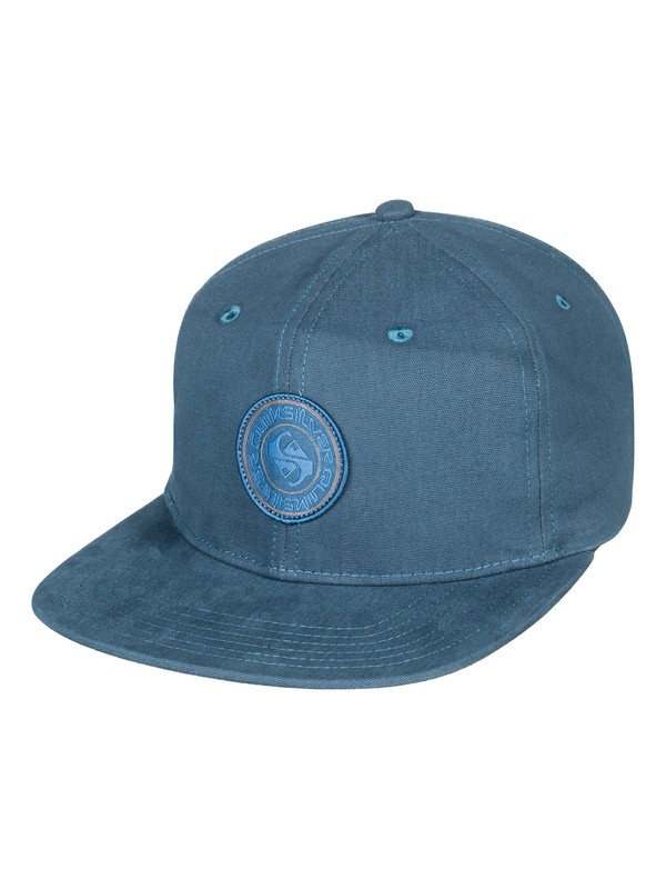 0 Spring Street Snapback Hat Blue AQYHA04063 Quiksilver