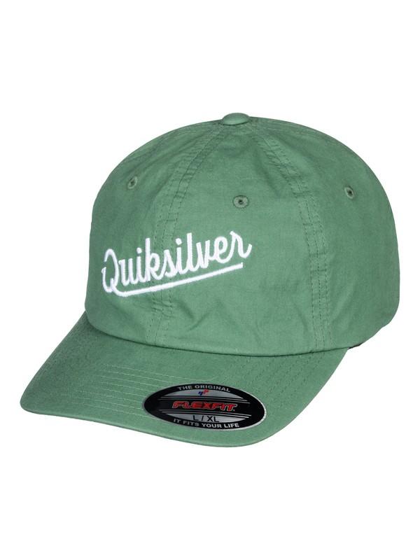 0 Hosfeld - Flexfit Hat Green AQYHA04066 Quiksilver