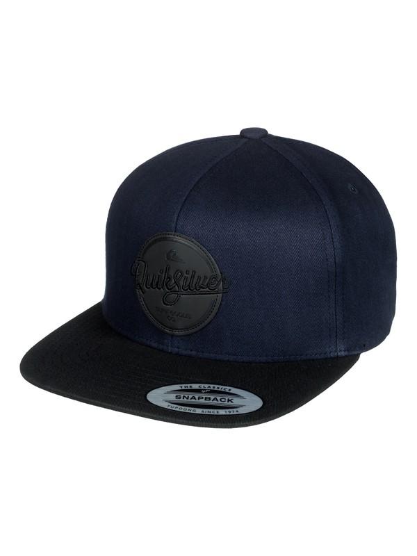 0 Frocker Snapback Hat Blue AQYHA04067 Quiksilver