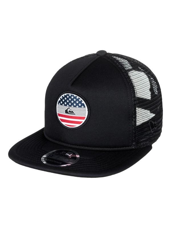 0 Flag - Trucker Hat Black AQYHA04068 Quiksilver