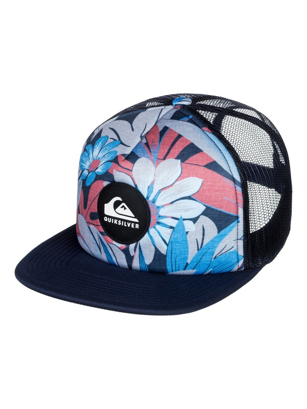 0 Faded Out - Trucker Hat  AQYHA04070 Quiksilver