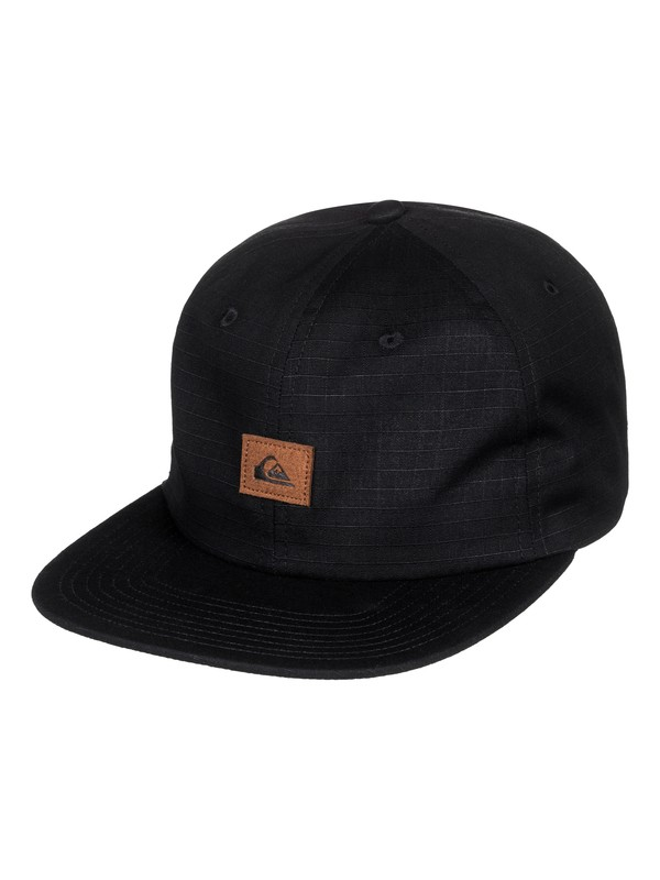 0 Cascades Snapback Hat Black AQYHA04072 Quiksilver