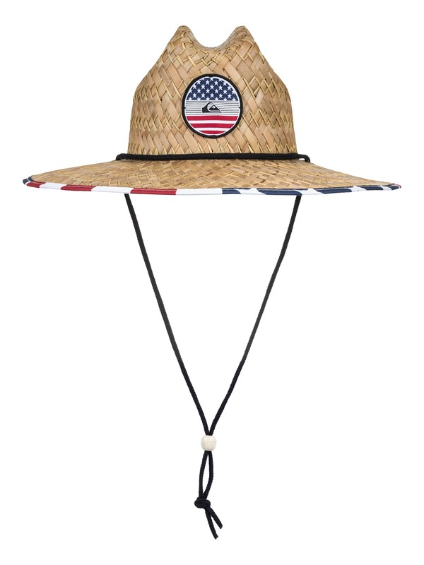 0 Outsider America Straw Lifeguard Hat  AQYHA04077 Quiksilver