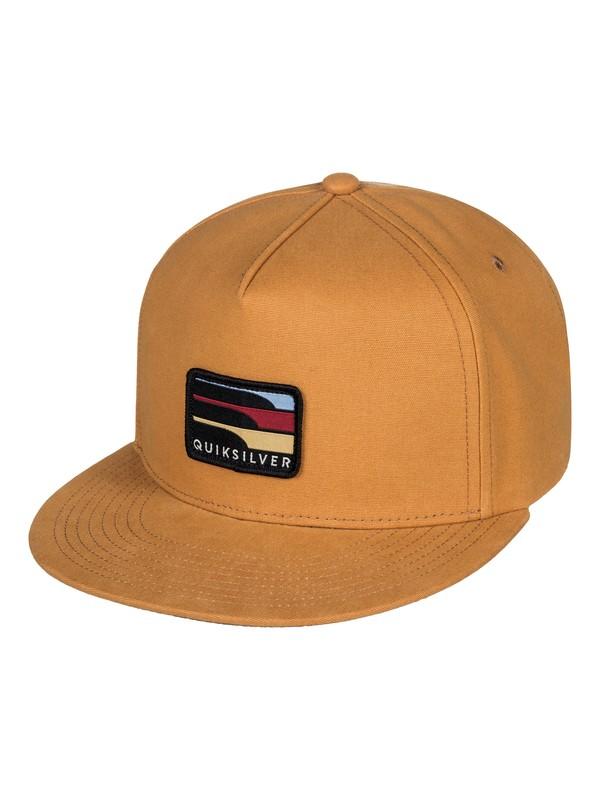 0 Squellers - Snapback Hat Brown AQYHA04092 Quiksilver