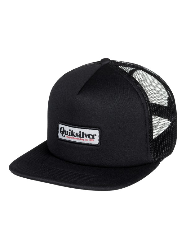 0 Foam Cruster Trucker Hat Black AQYHA04093 Quiksilver