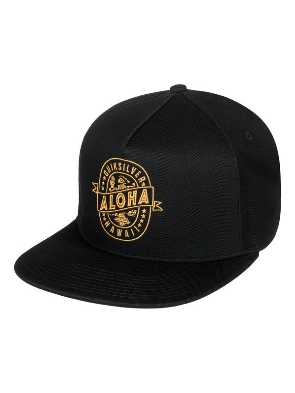 0 Brewski Snapback Hat  AQYHA04105 Quiksilver
