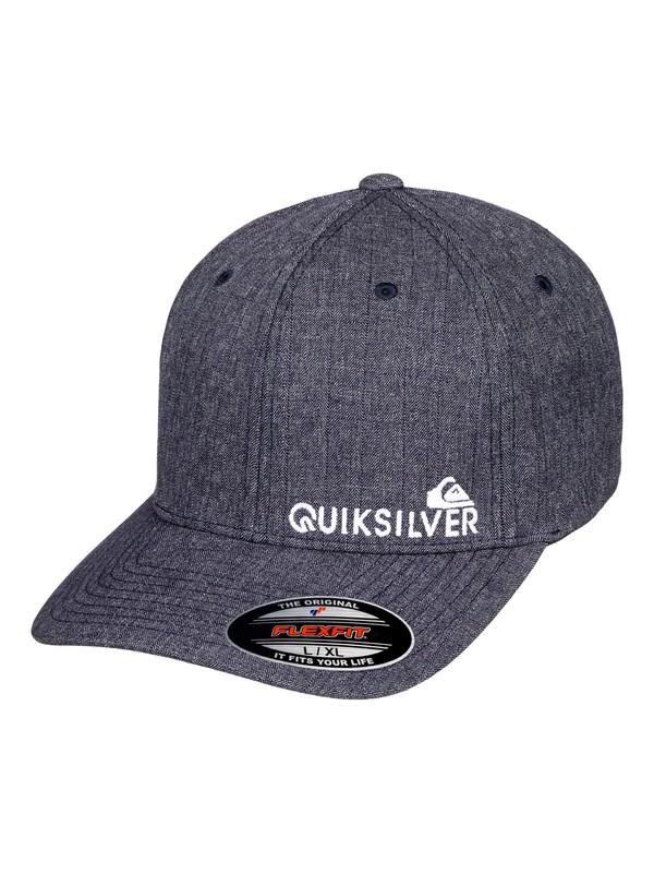 0 Sidestay - Flexfit Cap für Männer Blau AQYHA04121 Quiksilver