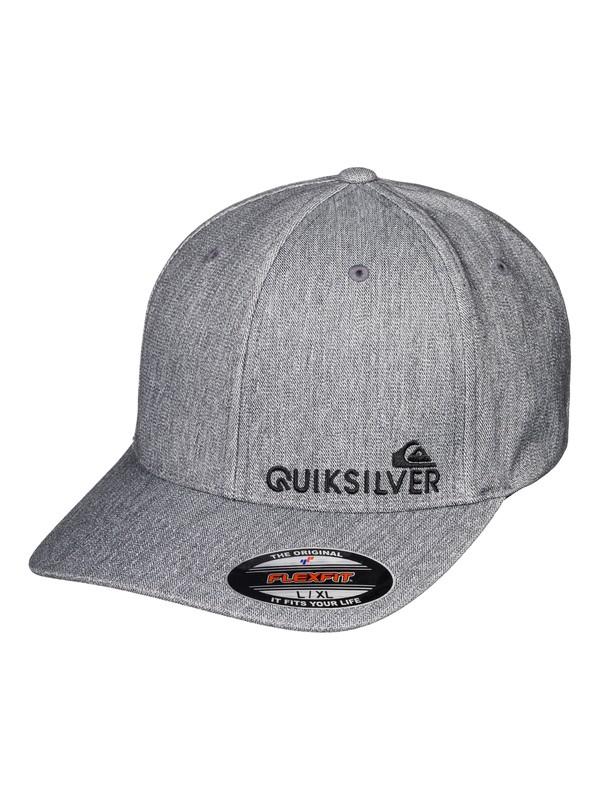 0 Sidestay Flexfit® Hat Black AQYHA04121 Quiksilver