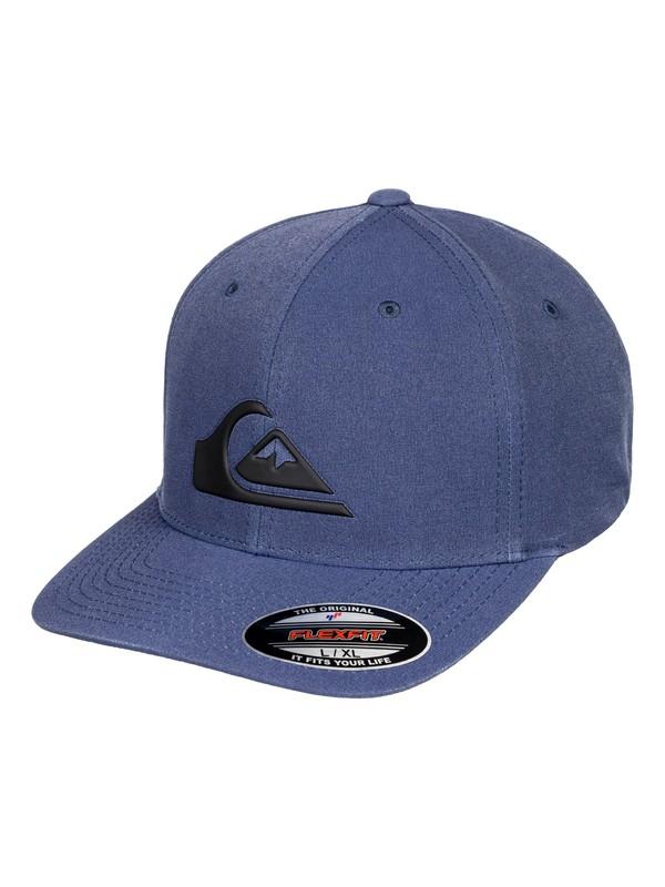 0 Amphibiano Amphibian Flexfit Hat Blue AQYHA04125 Quiksilver