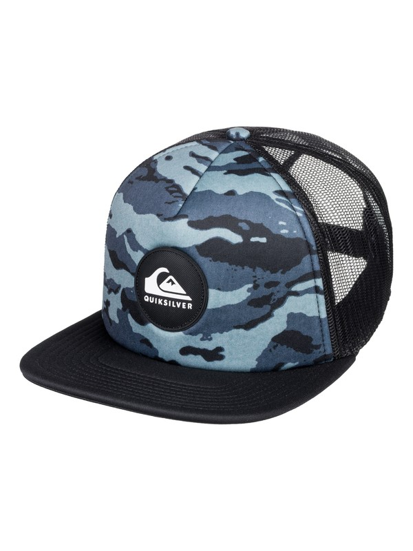 0 Men's Board Hoardie Trucker Hat Black AQYHA04129 Quiksilver