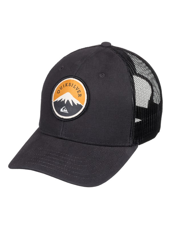 0 Men's Formulation Trucker Hat Black AQYHA04133 Quiksilver