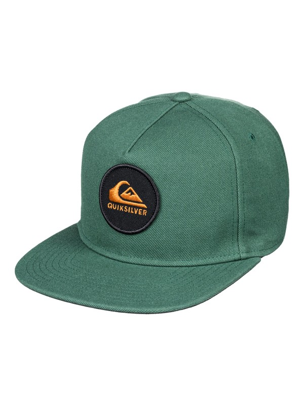 0 Perfect Snap Snapback Hat Brown AQYHA04136 Quiksilver