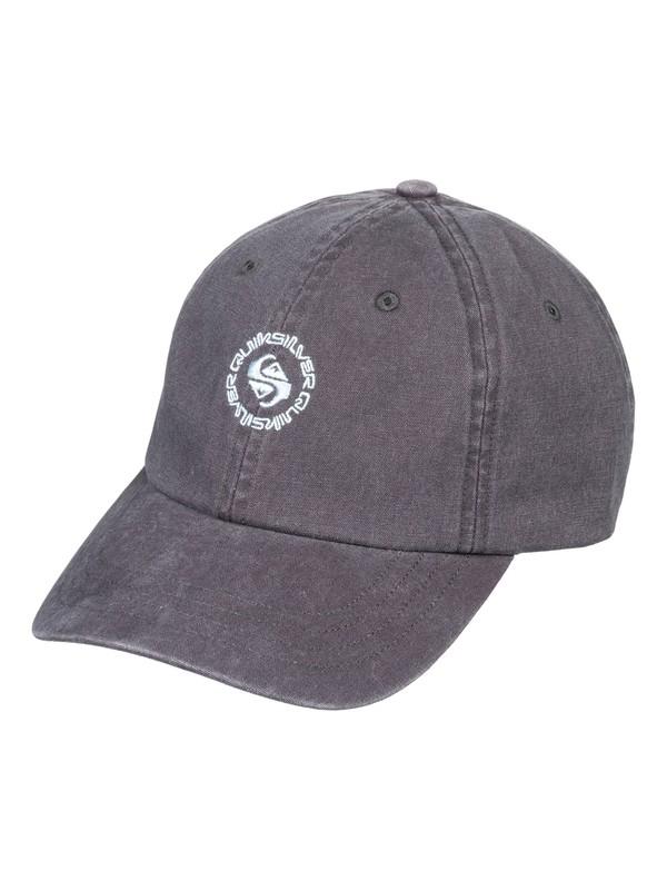 0 Men's Hood Muffin Baseball Hat Black AQYHA04150 Quiksilver