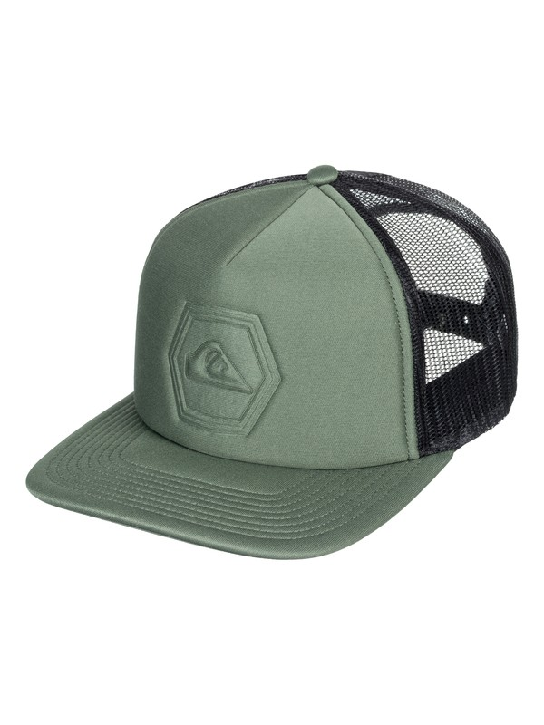 0 Pressington - Trucker Cap Brown AQYHA04162 Quiksilver