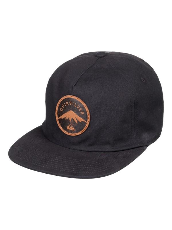 0 Mountain Stasher - Snapback Cap für Männer Schwarz AQYHA04165 Quiksilver