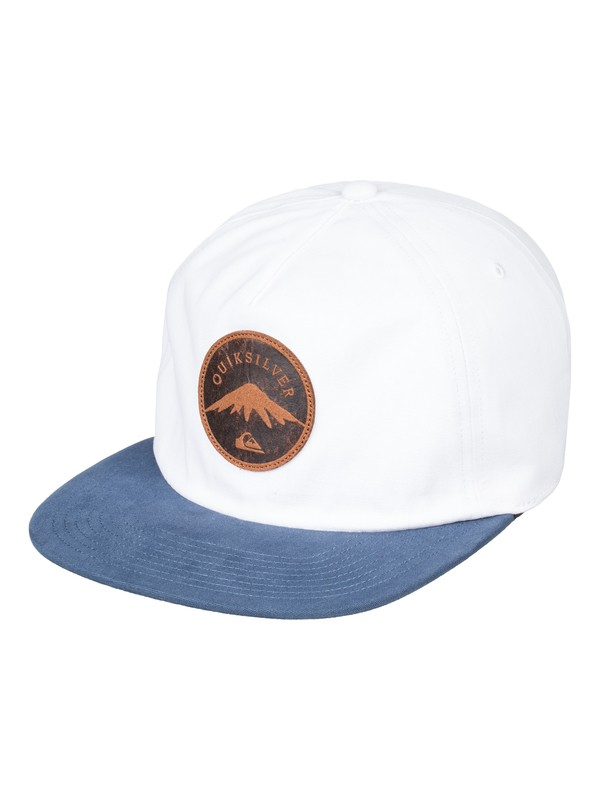 0 Mountain Stasher - Snapback Cap for Men White AQYHA04165 Quiksilver