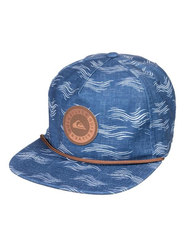 0 Tortilla Envy Snapback Hat Blue AQYHA04166 Quiksilver