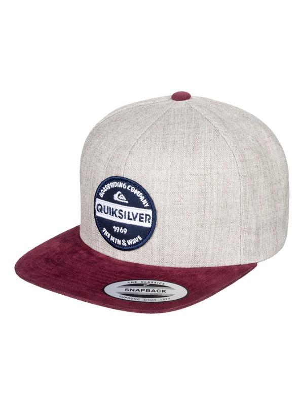 0 Firm Chowder - Snapback Cap Black AQYHA04168 Quiksilver