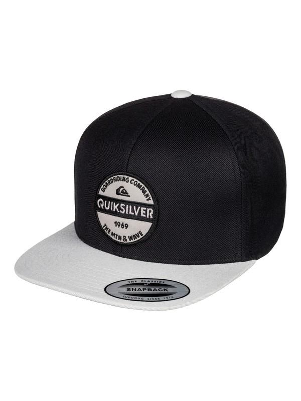 0 Firm Chowder - Snapback Cap for Men Black AQYHA04168 Quiksilver