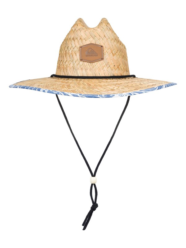 0 Outsider Straw Lifeguard Hat Blue AQYHA04169 Quiksilver