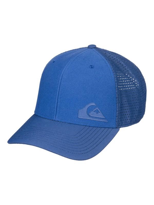 0 Men's Technabutter Baseball Hat Blue AQYHA04172 Quiksilver