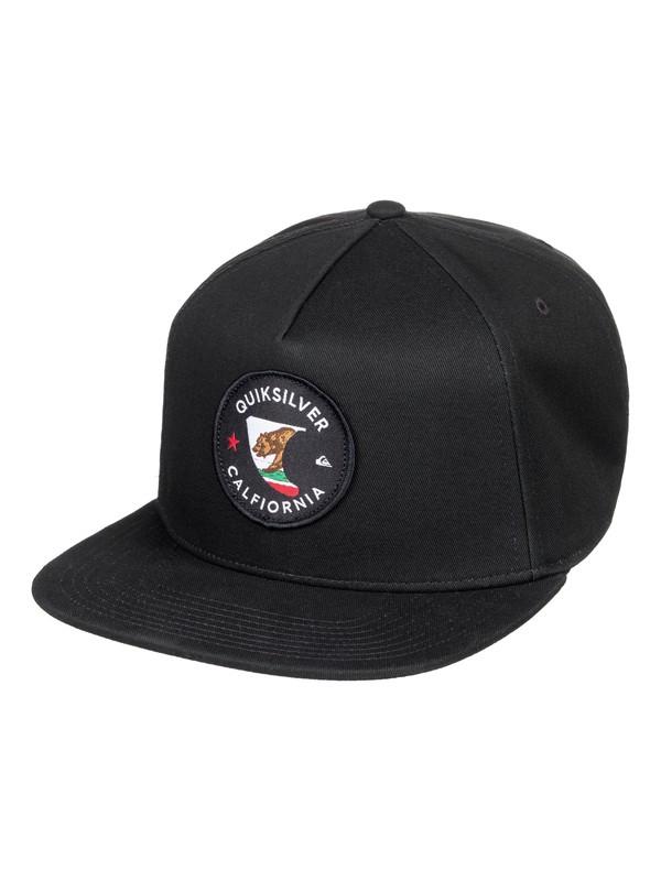 0 Destinado Snapback Hat Black AQYHA04182 Quiksilver