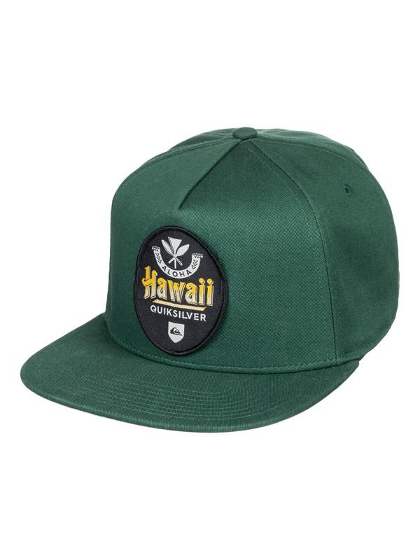 0 HI Beerski Snapback Hat Brown AQYHA04188 Quiksilver