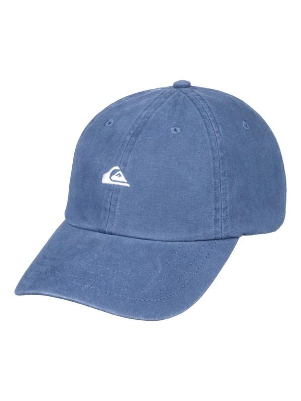 0 Men's Papa Dad Hat Blue AQYHA04195 Quiksilver