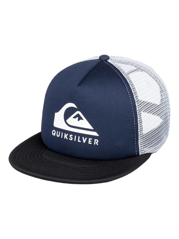 0 Foamslay - Trucker Cap for Men Blue AQYHA04196 Quiksilver