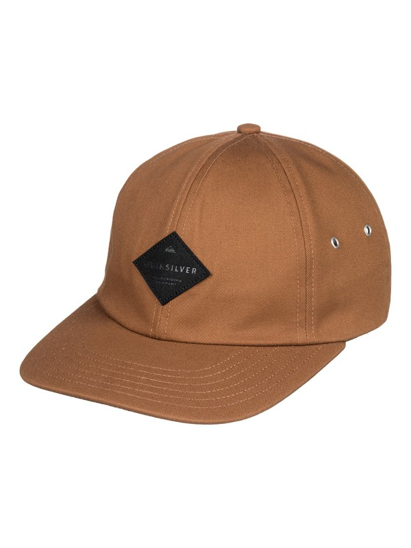 0 The Stiff Dad Hat Brown AQYHA04204 Quiksilver