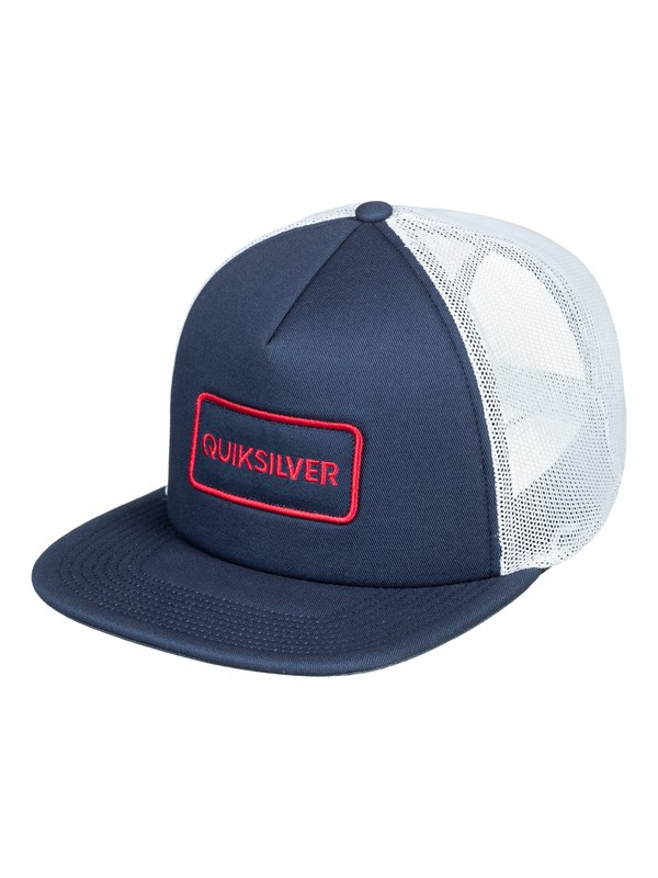 0 Startles Trucker Hat Blue AQYHA04213 Quiksilver