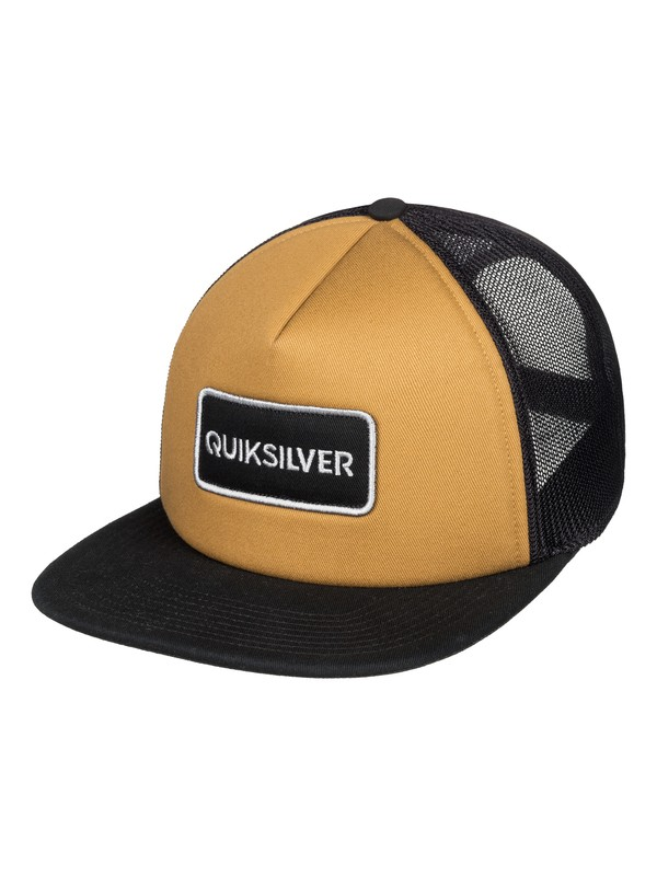 0 Startles Trucker Hat Brown AQYHA04213 Quiksilver