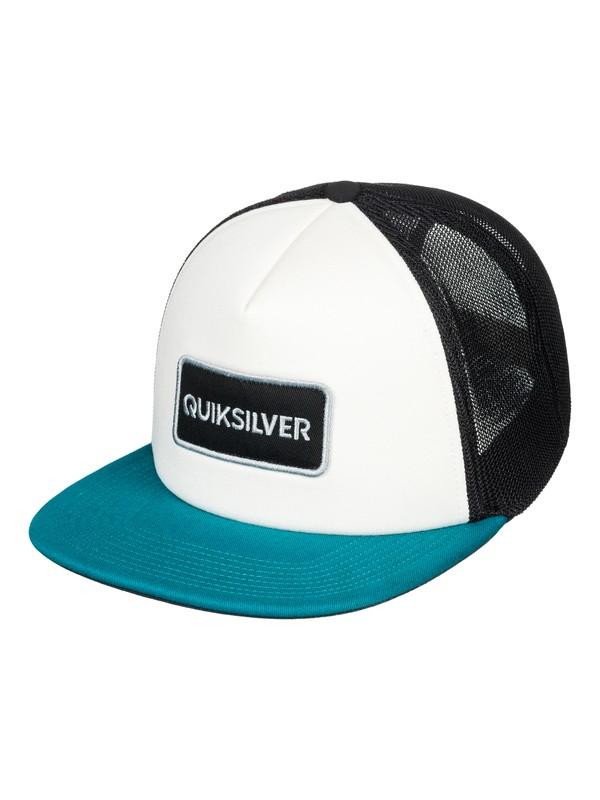 0 Startles Trucker Hat White AQYHA04213 Quiksilver