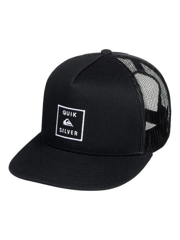 0 Clipster Snapback Hat Black AQYHA04220 Quiksilver