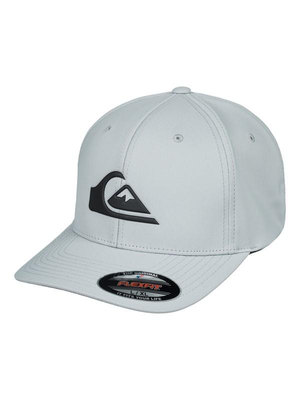 0 Amphib Texture Flexfit Hat Grey AQYHA04223 Quiksilver