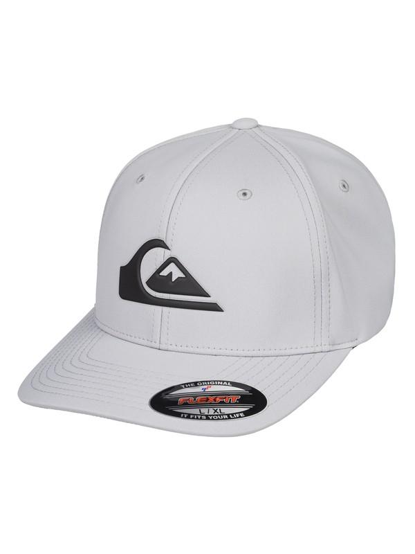 0 Amped Up Amphibian Flexfit® Hat Grey AQYHA04294 Quiksilver