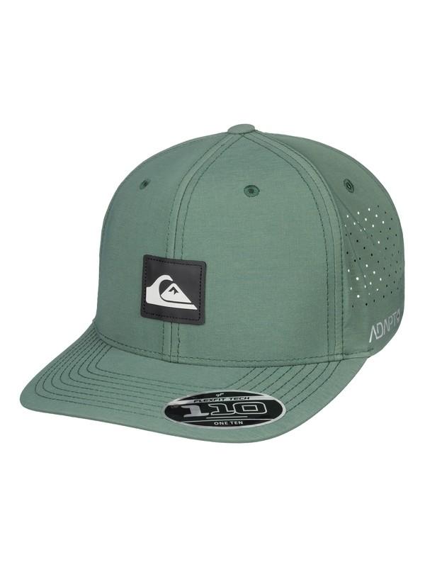 0 Adapted Amphibian Baseball Hat Green AQYHA04295 Quiksilver