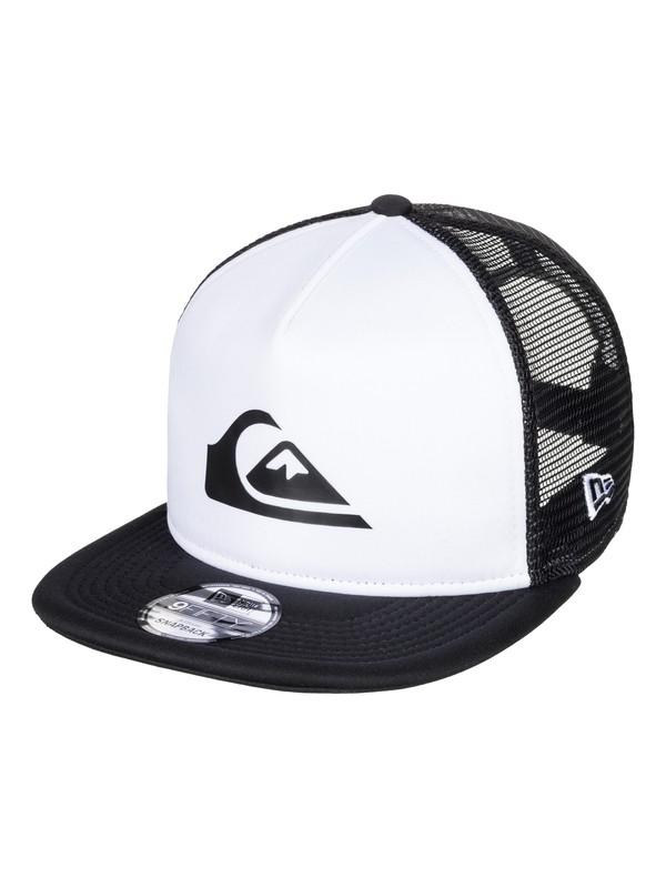 0 Podium Trucker Hat White AQYHA04332 Quiksilver